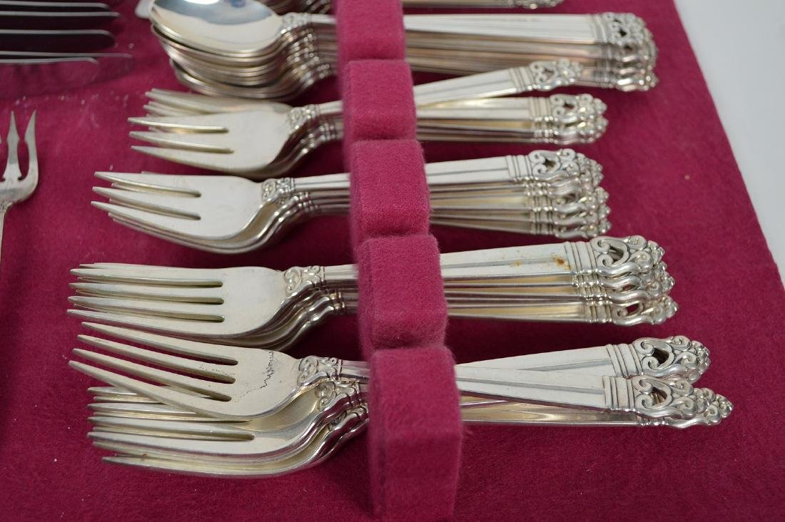 International Sterling Royal Danish Flatware Set, 117 - 2