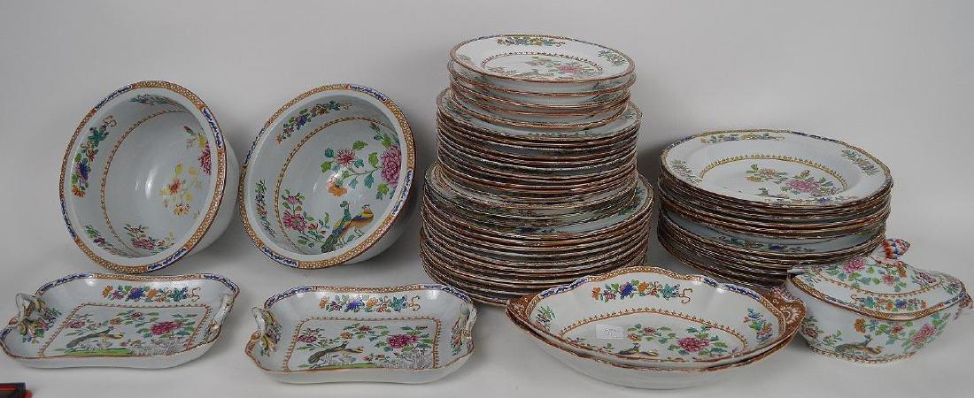 Spode porcelain dinner service, incl; 12 dinner plates