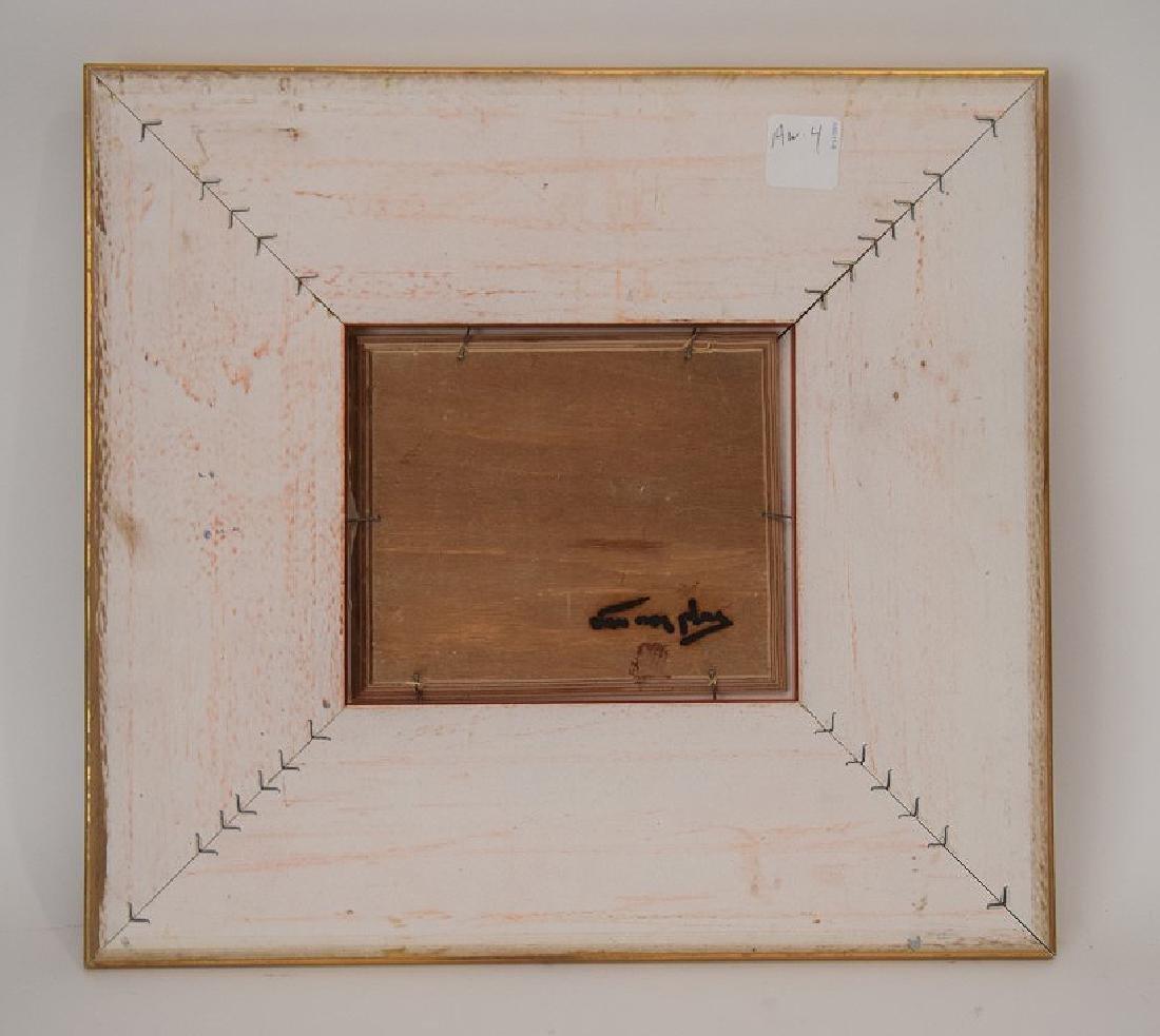 Niek Van Der Plas (Dutch. Born 1954) oil on board, - 3