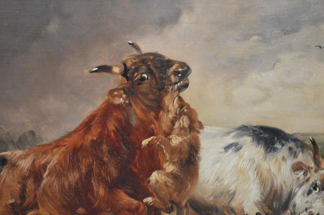 Henry Schouten (Belgian, 1864-1927) oil on canvas, - 3