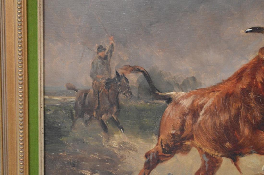 Henry Schouten (Belgian, 1864-1927) oil on canvas, - 4