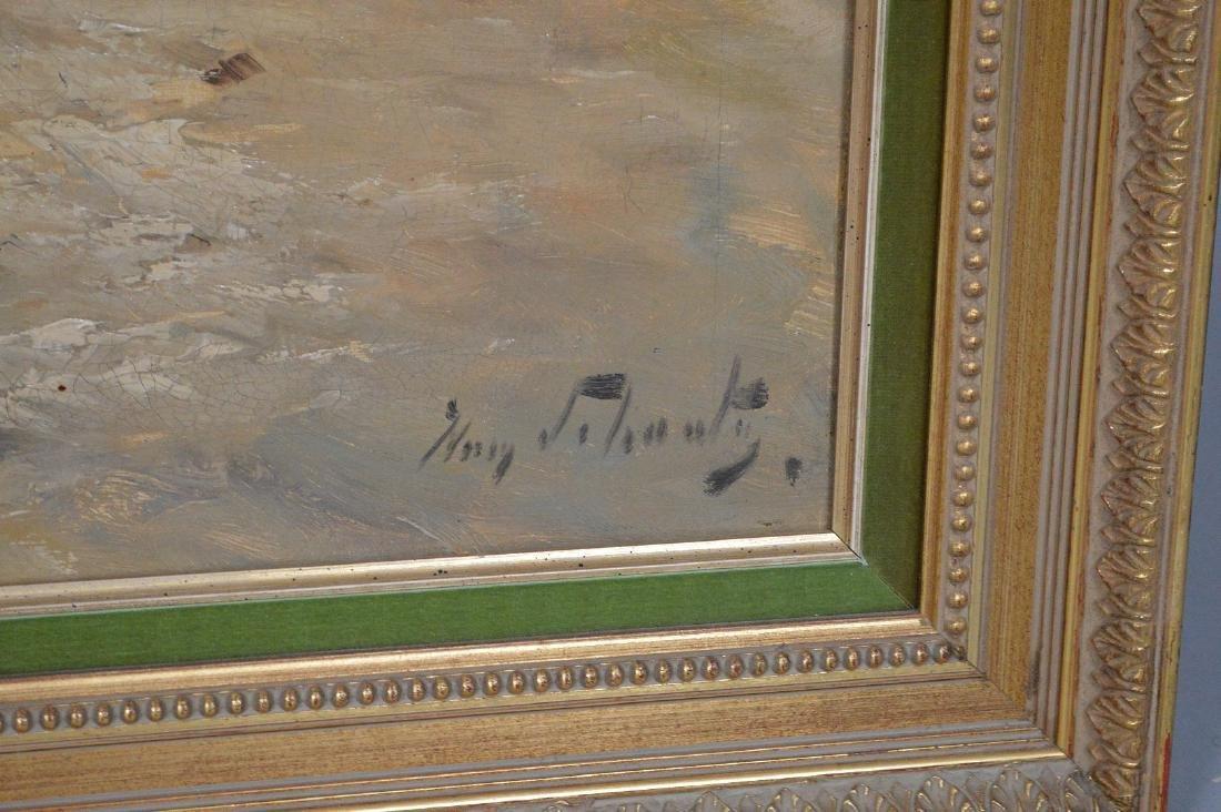 Henry Schouten (Belgian, 1864-1927) oil on canvas, - 5