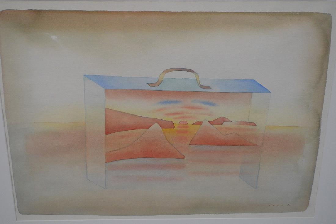 Jean-Michel Folon (Belgian, 1934-2005) Original - 2