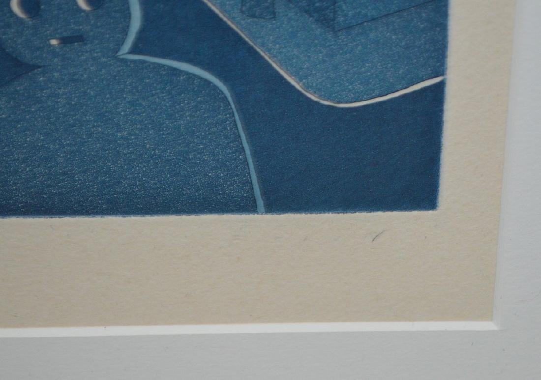 (2) Two pieces:  Jean-Michel Folon (Belgian, 1934-2005) - 8