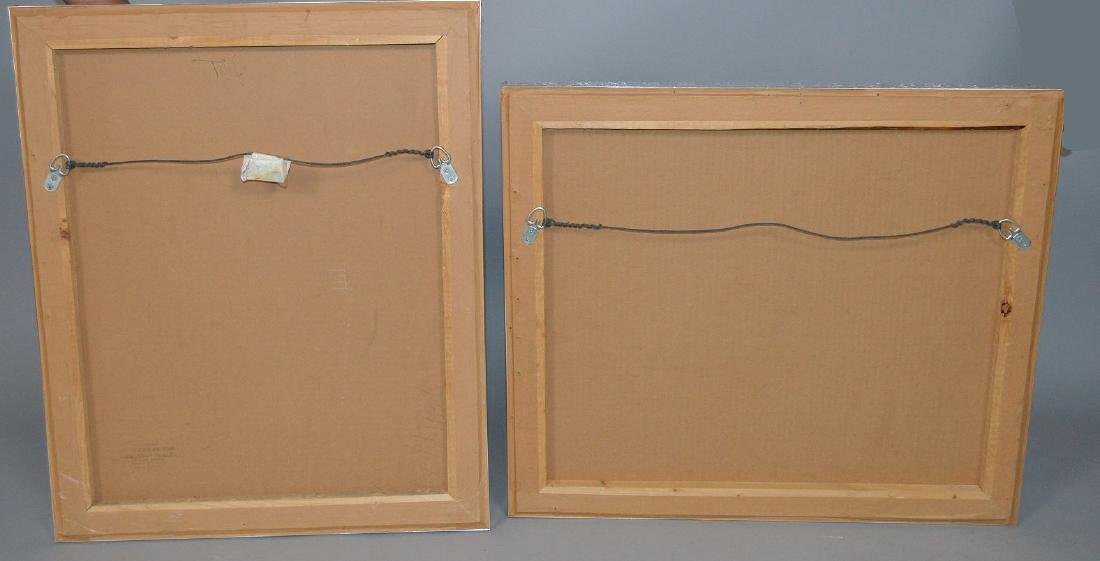 (2) Two pieces:  Jean-Michel Folon (Belgian, 1934-2005) - 9