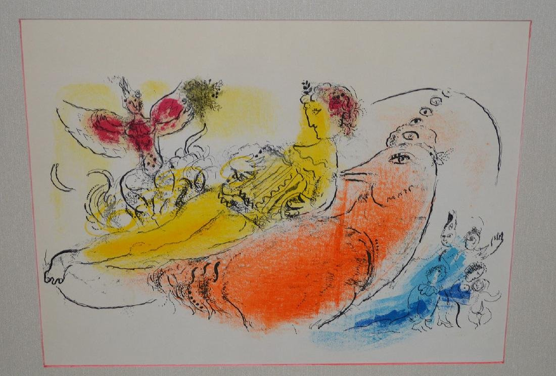 Marc Chagall (FRENCH/RUSSIAN, 1887–1985) Lithograph, - 2