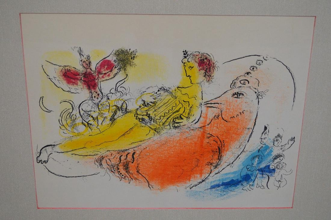 Marc Chagall (FRENCH/RUSSIAN, 1887–1985) Lithograph, - 3