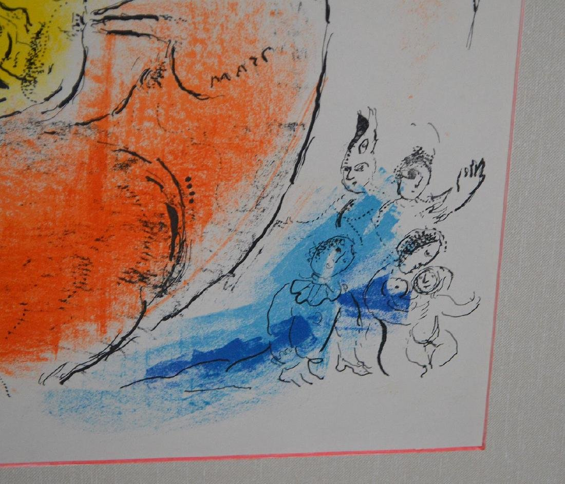 Marc Chagall (FRENCH/RUSSIAN, 1887–1985) Lithograph, - 5