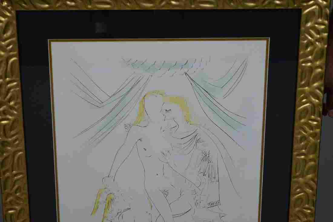 Salvador Dali - Venus, Mars et Cupidon Albrecht Durer,
