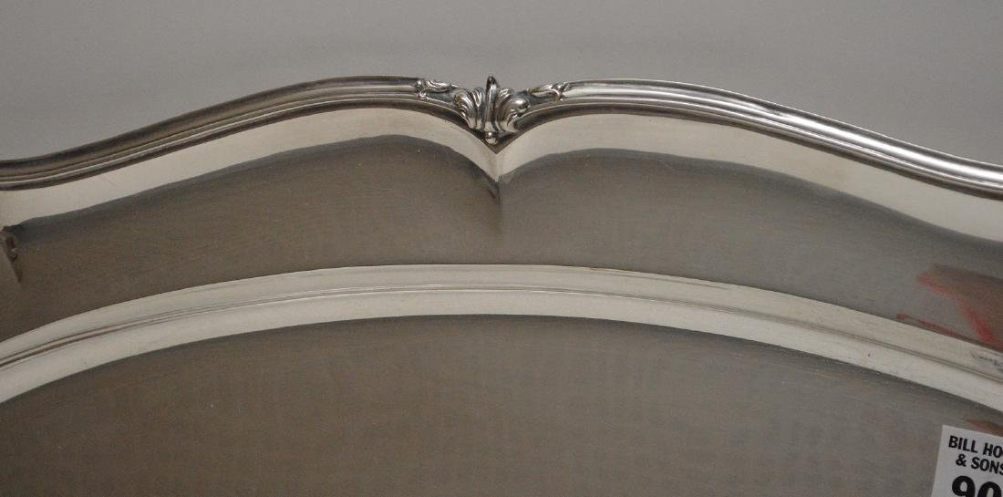 """Large sterling """"800"""" tray , 60 ozt, 24""""L x 13""""W - 2"""