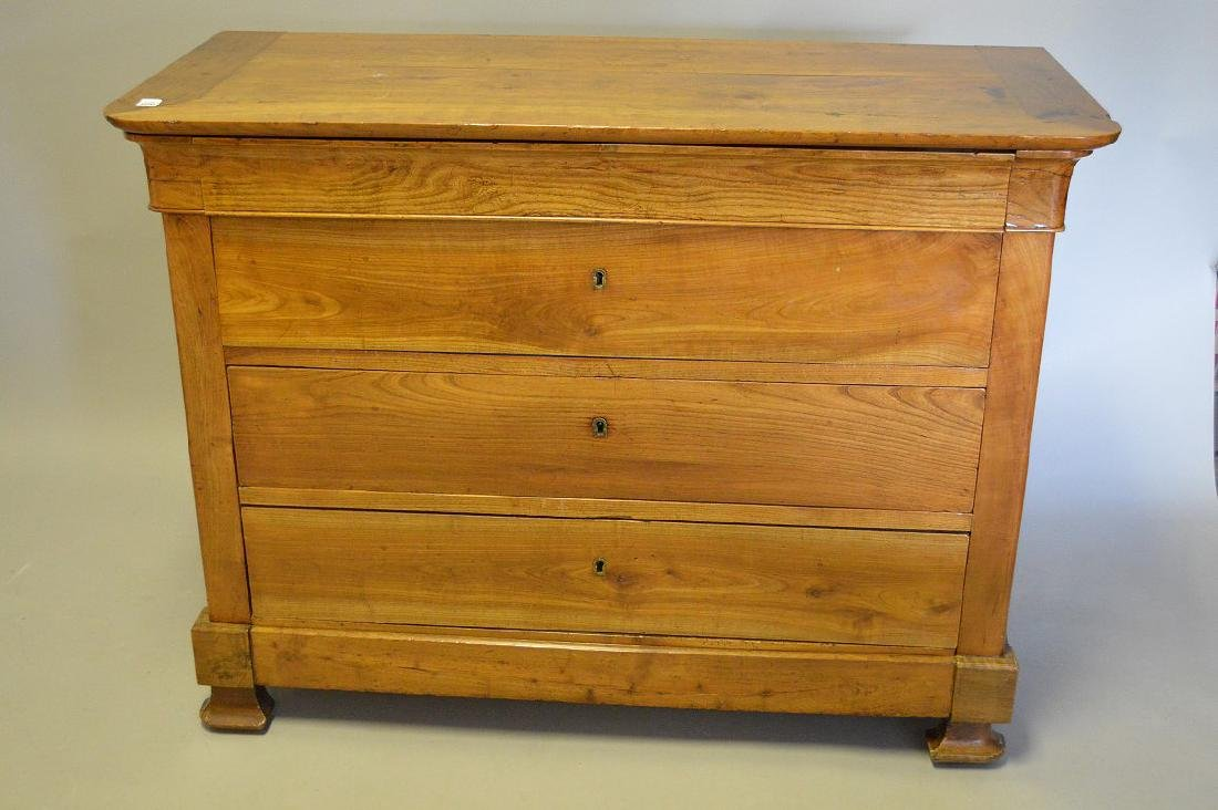 """Fruitwood Beidermeir style chest of drawers, 38""""h x"""