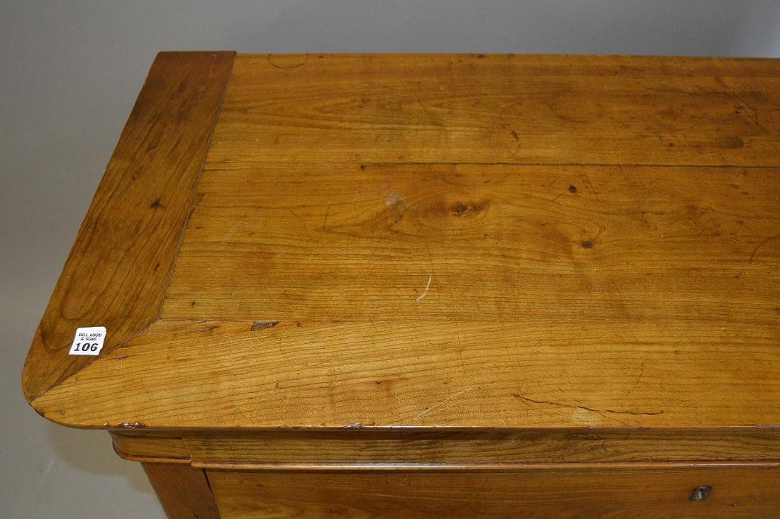 """Fruitwood Beidermeir style chest of drawers, 38""""h x - 4"""