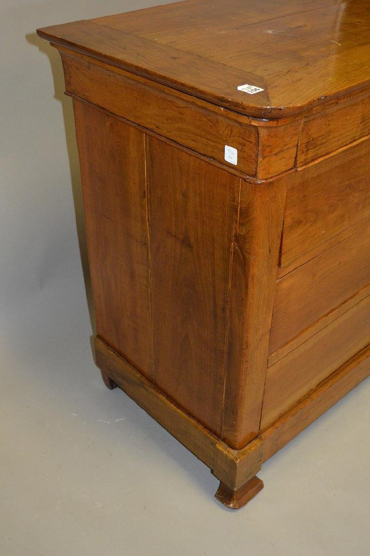 """Fruitwood Beidermeir style chest of drawers, 38""""h x - 5"""
