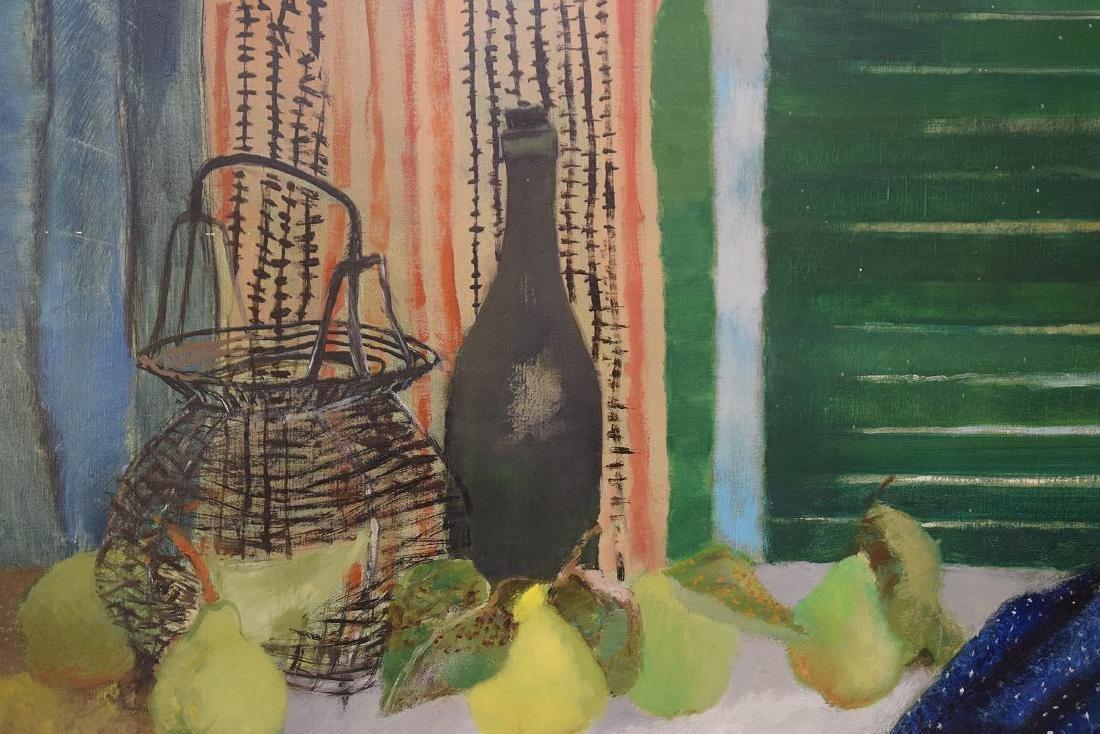 Guy Bardone  (France 1927 - 2015) oil on canvas, Nature - 2