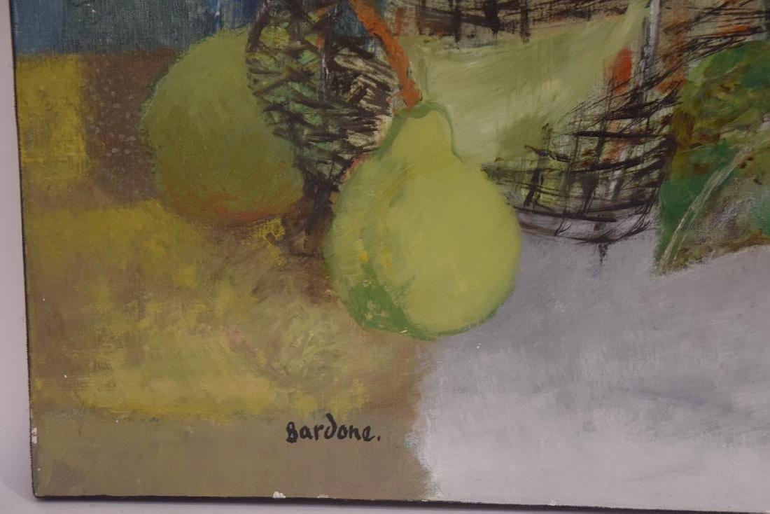 Guy Bardone  (France 1927 - 2015) oil on canvas, Nature - 3