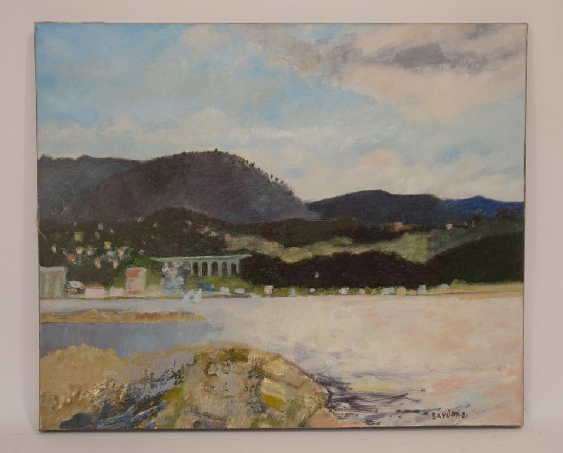 Guy Bardone  (France 1927 - 2015) oil on canvas, French