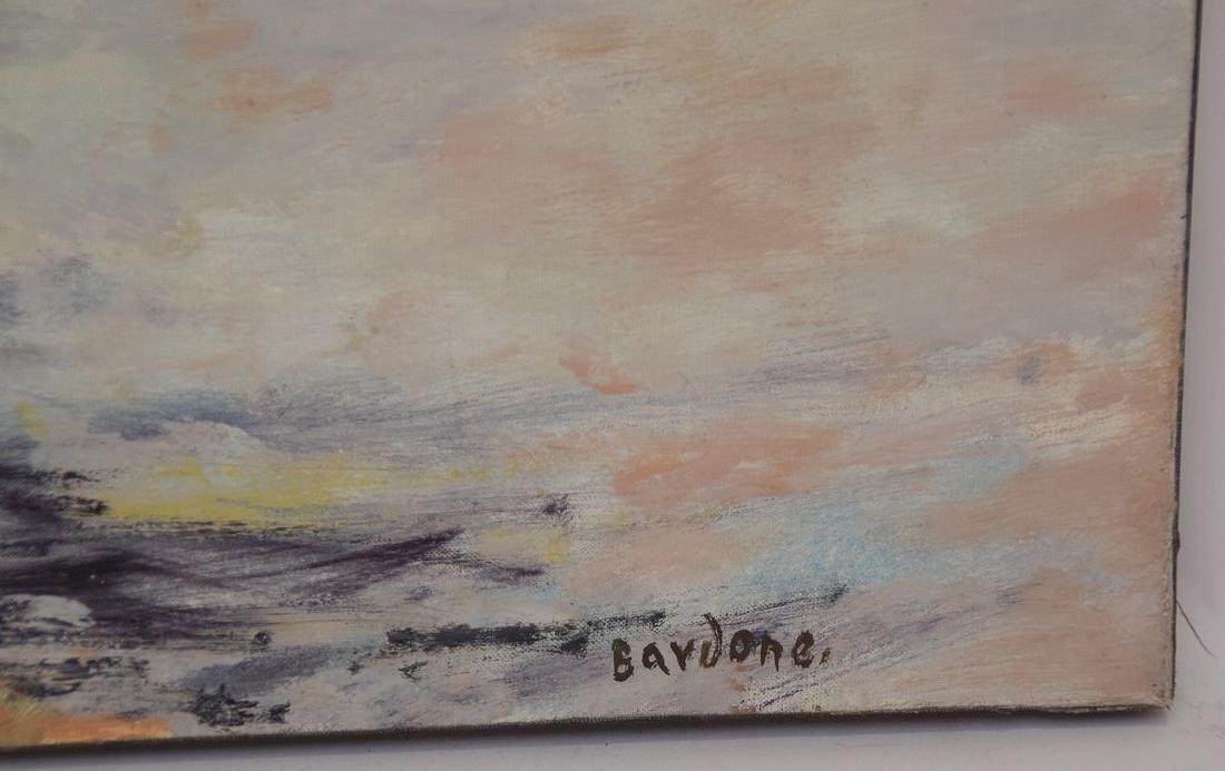 Guy Bardone  (France 1927 - 2015) oil on canvas, French - 2
