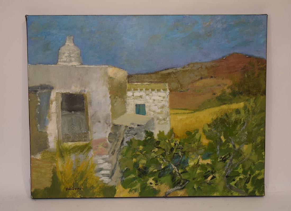 Guy Bardone  (France 1927 - 2015) oil on canvas, LE