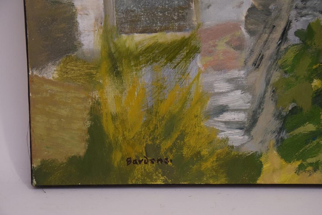 Guy Bardone  (France 1927 - 2015) oil on canvas, LE - 2