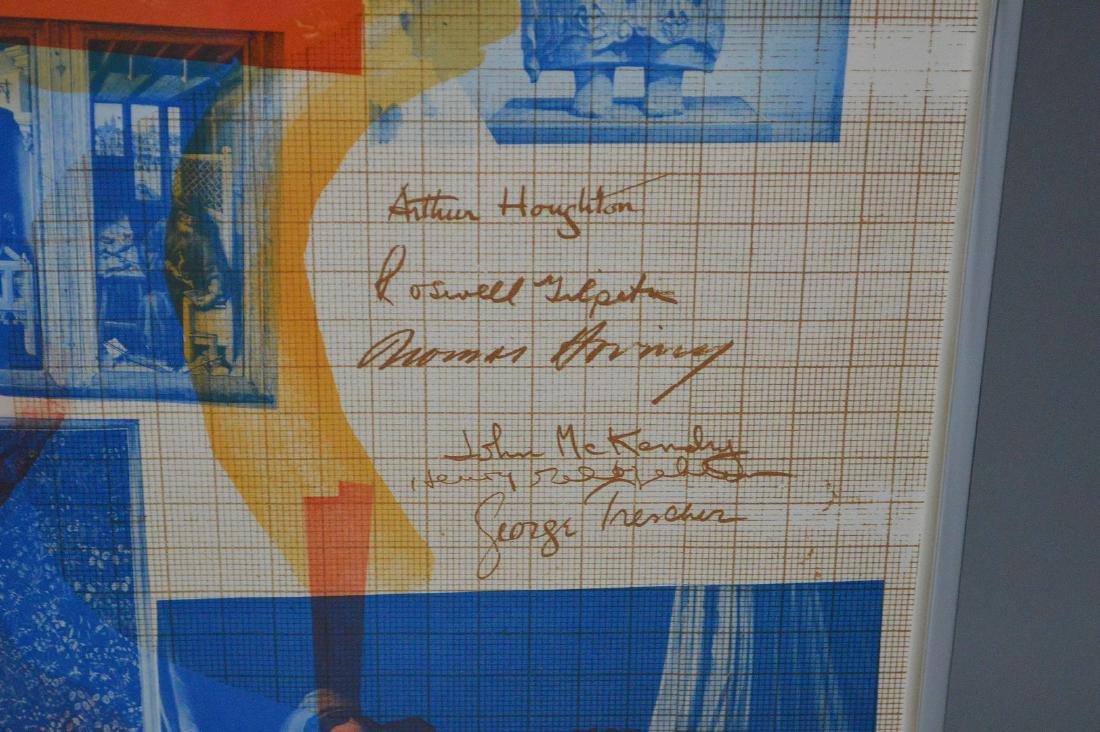 Robert Rauschenberg (American 1925-2008) lithograph in - 3