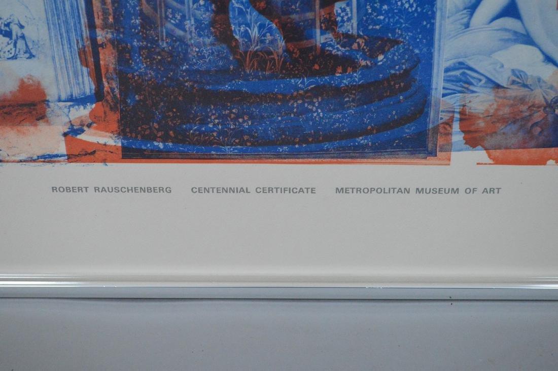 Robert Rauschenberg (American 1925-2008) lithograph in - 5