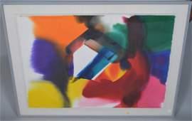 Paul Jenkins (AMERICAN, 1923–2012) Original Watercolor