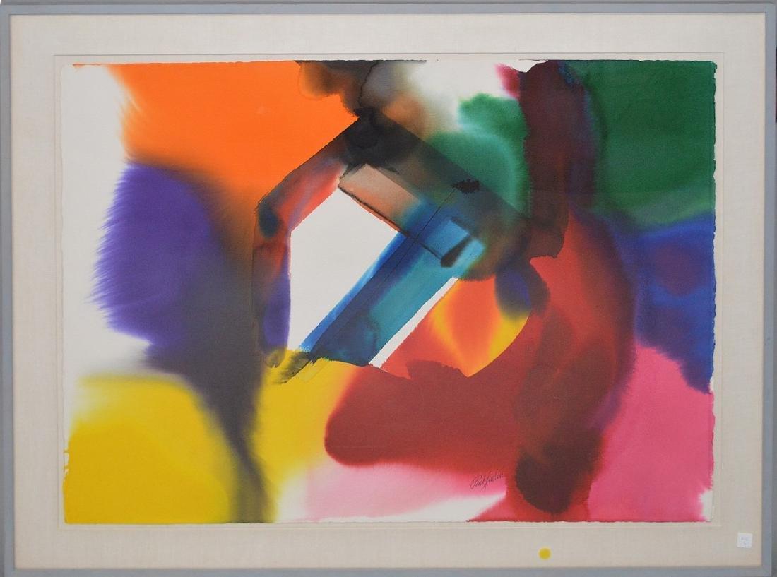 Paul Jenkins (AMERICAN, 1923–2012) Original Watercolor - 2
