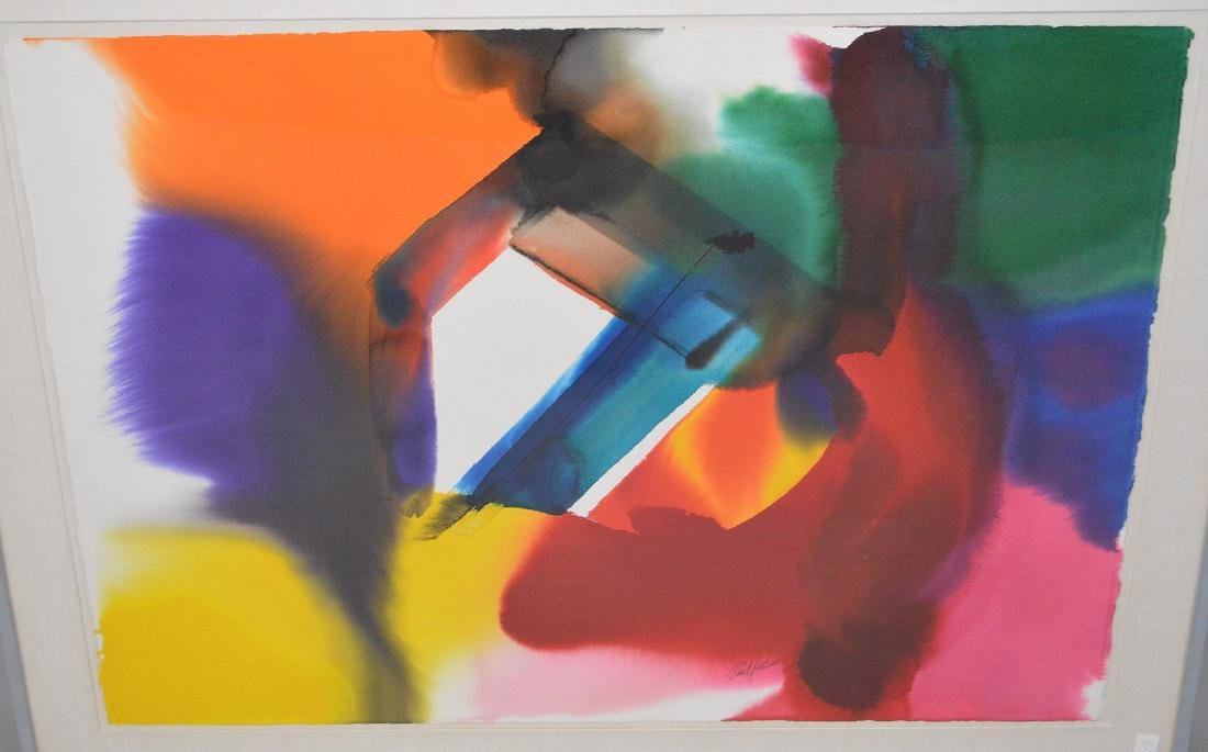 Paul Jenkins (AMERICAN, 1923–2012) Original Watercolor - 3