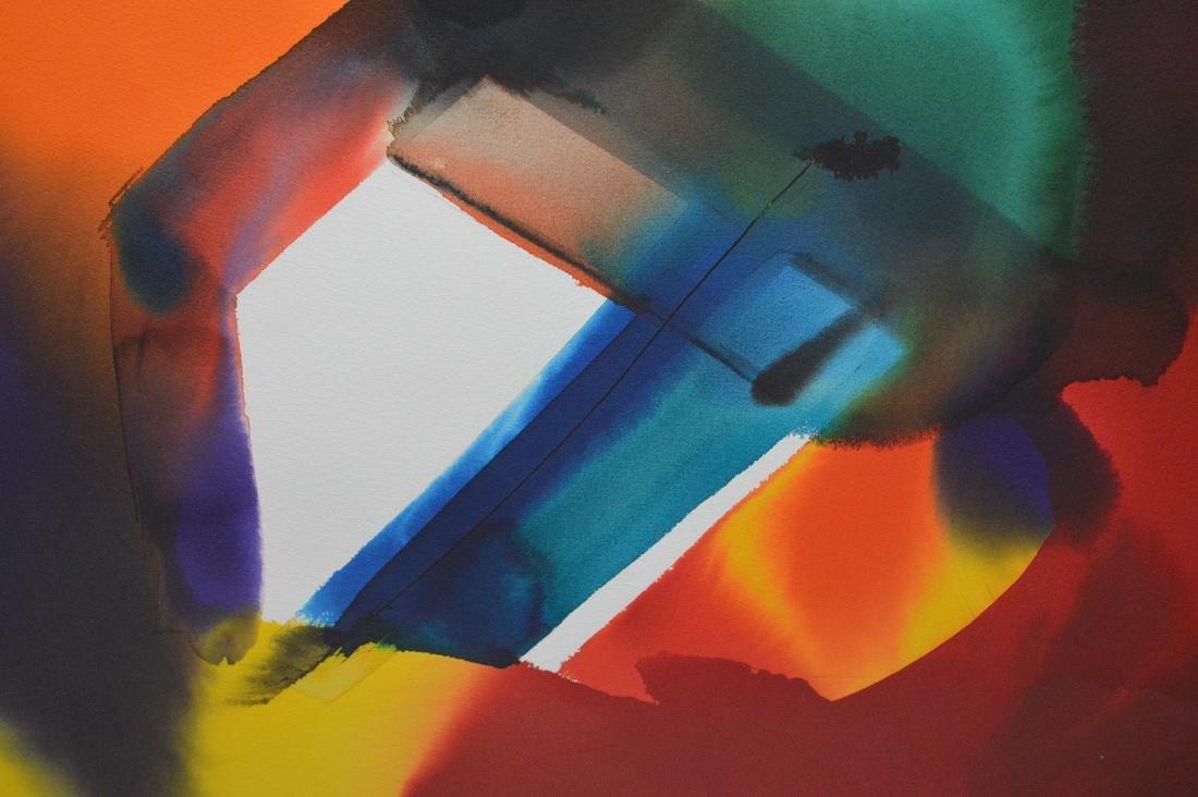 Paul Jenkins (AMERICAN, 1923–2012) Original Watercolor - 4