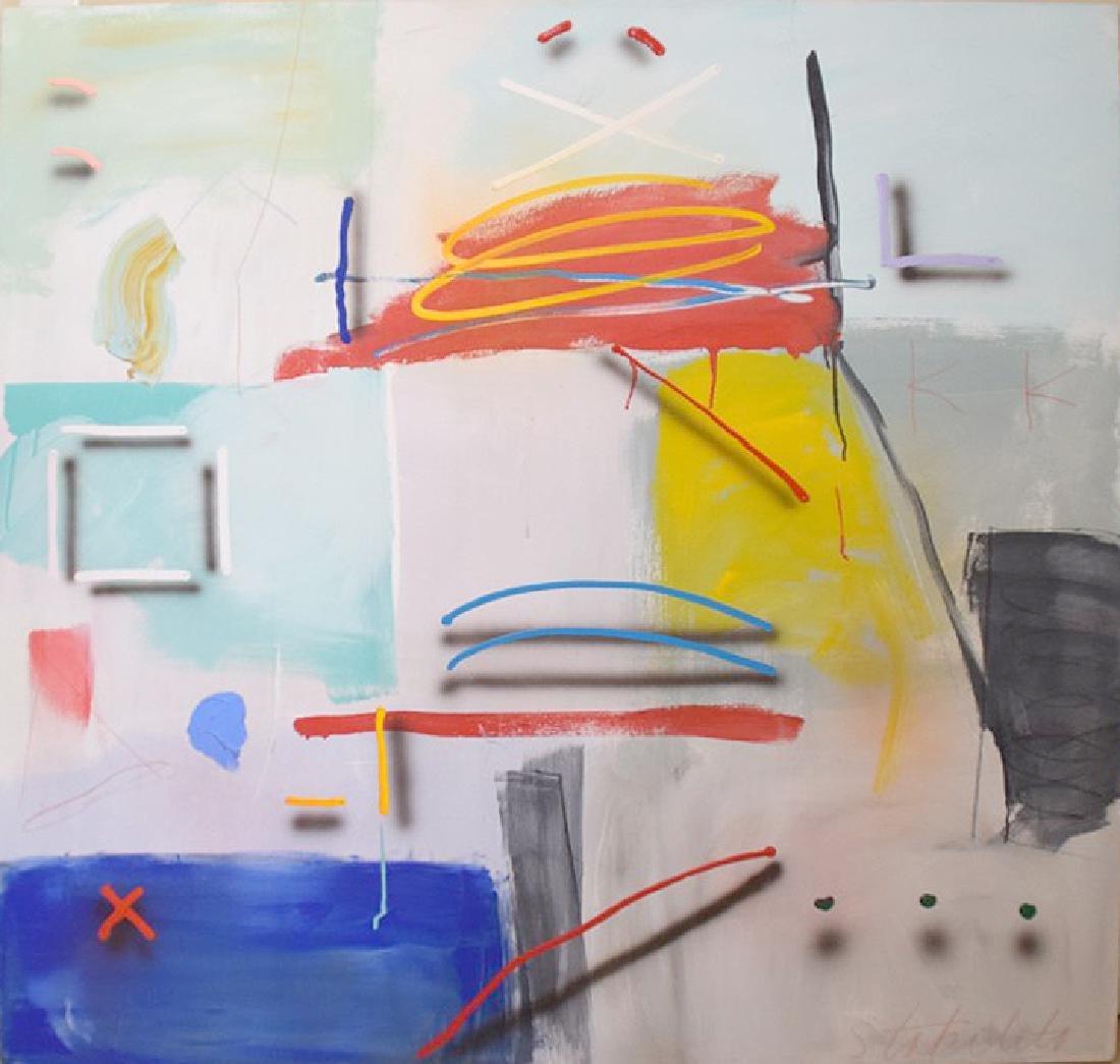 Joseph Stabilito (born 1955) oil on canvas,