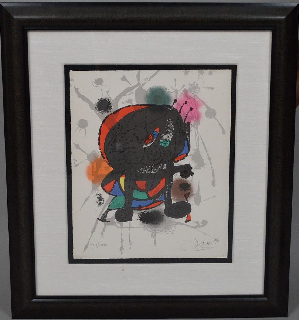 Joan Miro (SPANISH, 1893–1983) Lithographs III on