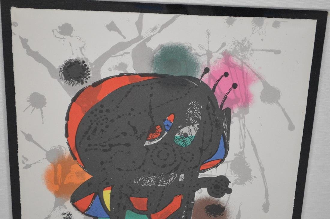 Joan Miro (SPANISH, 1893–1983) Lithographs III on - 2