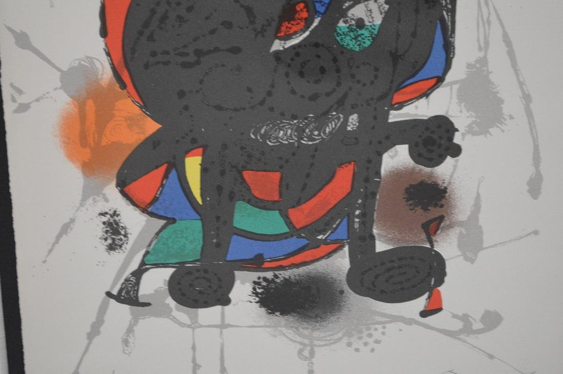 Joan Miro (SPANISH, 1893–1983) Lithographs III on - 3