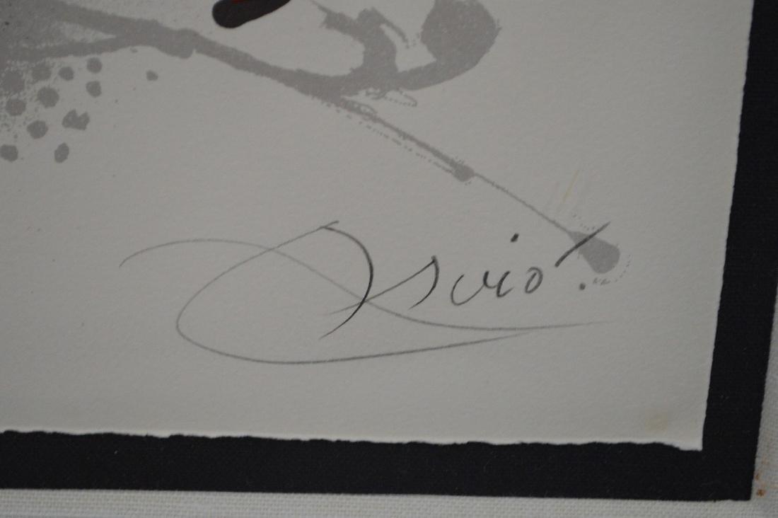 Joan Miro (SPANISH, 1893–1983) Lithographs III on - 4