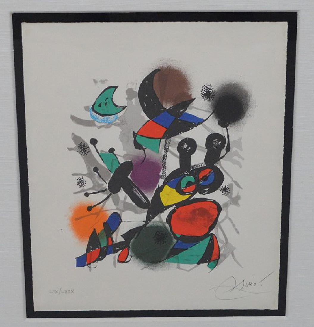 Joan Miro (SPANISH, 1893–1983) Lithographs IV on Arches