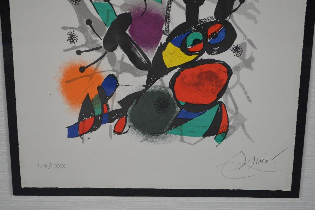 Joan Miro (SPANISH, 1893–1983) Lithographs IV on Arches - 2