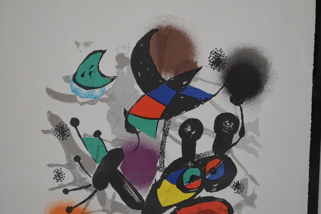 Joan Miro (SPANISH, 1893–1983) Lithographs IV on Arches - 3