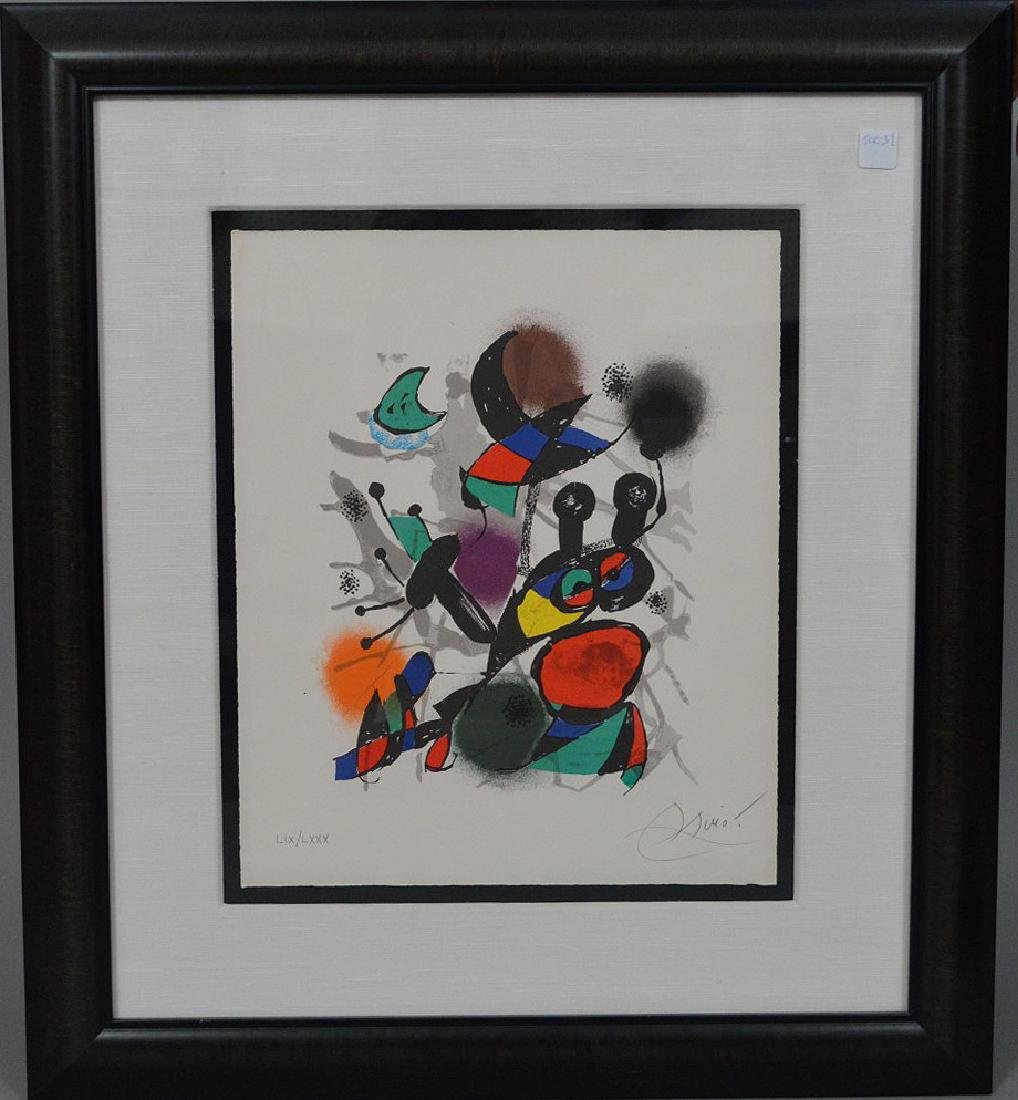Joan Miro (SPANISH, 1893–1983) Lithographs IV on Arches - 6