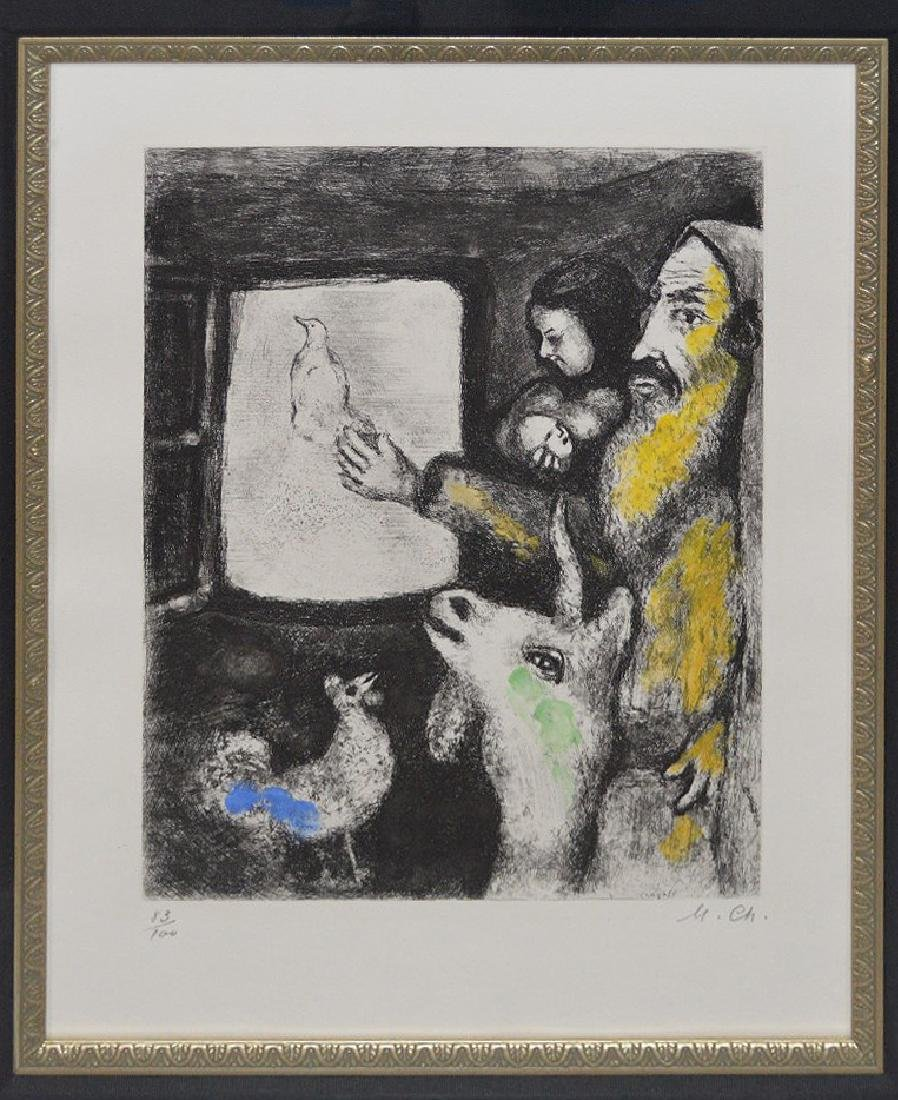 Marc Chagall (FRENCH/RUSSIAN, 1887–1985) colored - 2