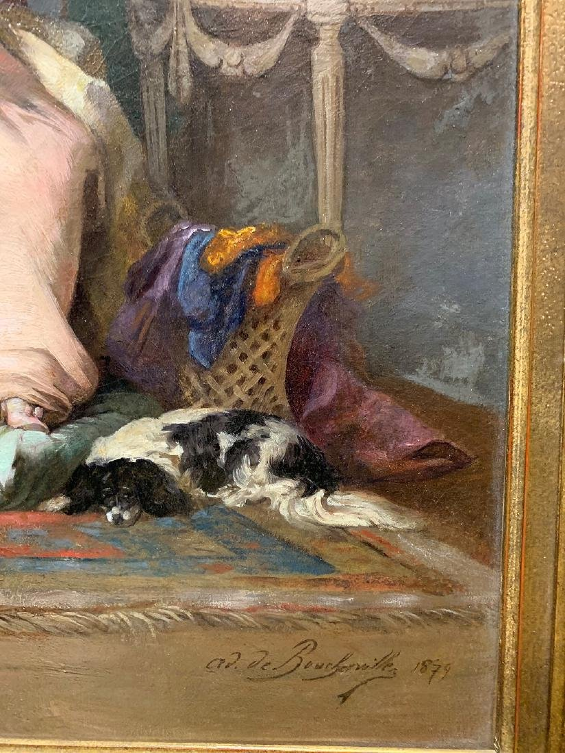 Adrien Boucherville  (French 1829 - 1912) oil on - 2