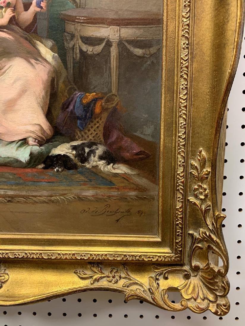 Adrien Boucherville  (French 1829 - 1912) oil on - 3
