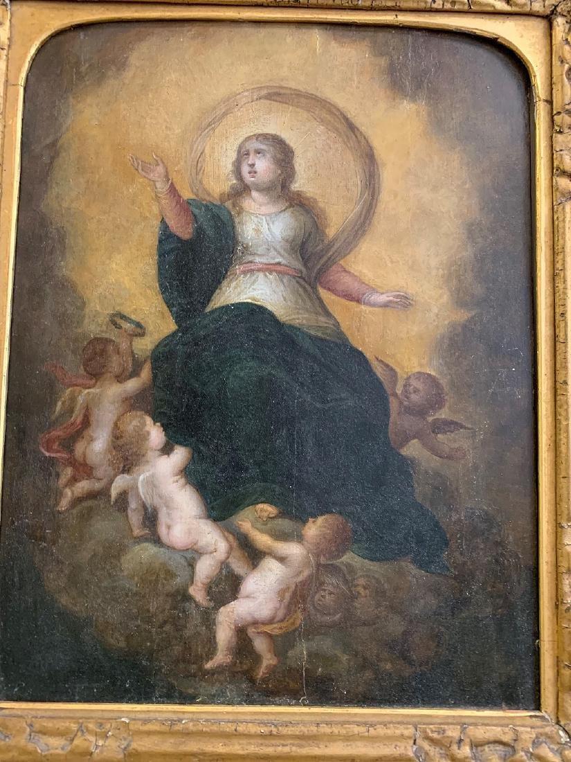 "The ""Assumption of the Virgin"" ,  17th century Spanish - 2"