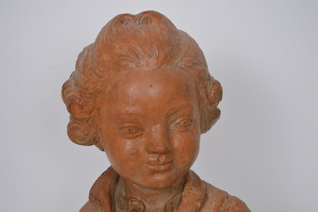 Terracotta Bust of young Beethoven by C. Gir, Paris, 14 - 2
