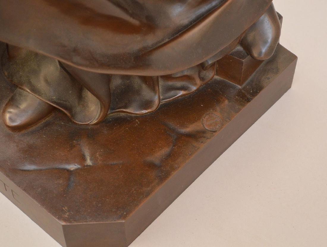 Alexandre Falguiere (France 1831 - 1900) Lg. Bronze - 5
