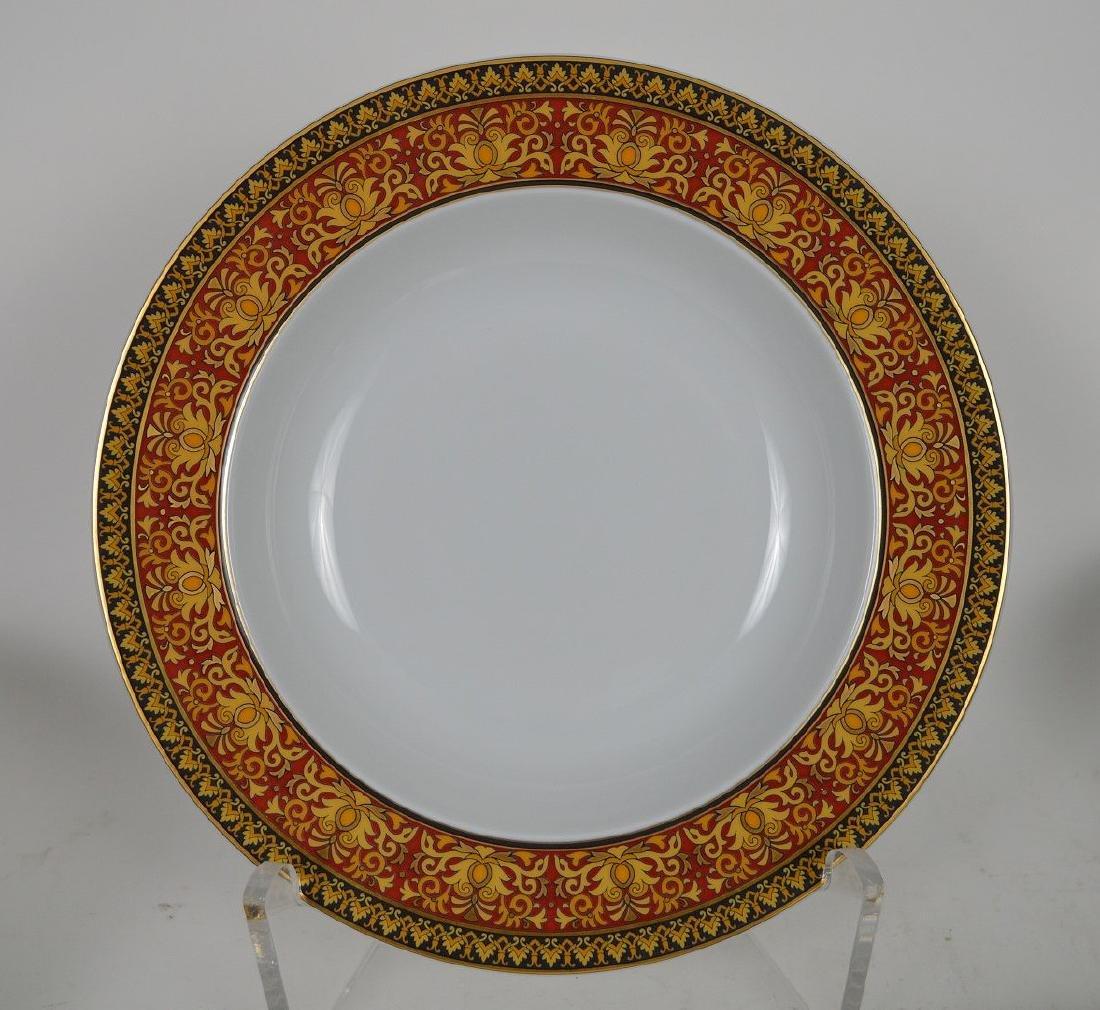 15 PIECE VERSACE MEDUSA PORCELAIN.  6 Dinner Plates - 10