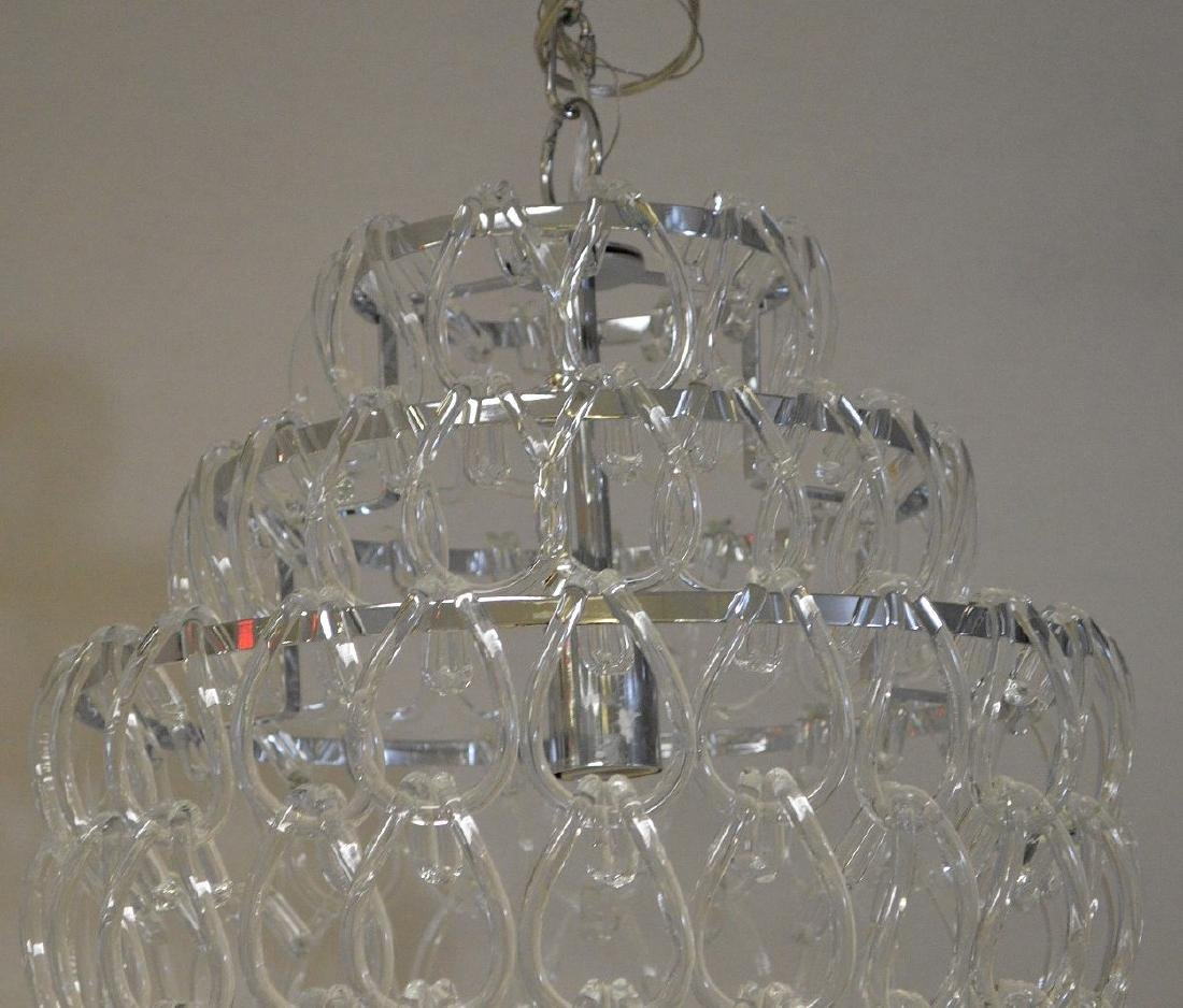 Modern crystal chandelier, chrome with series of - 5