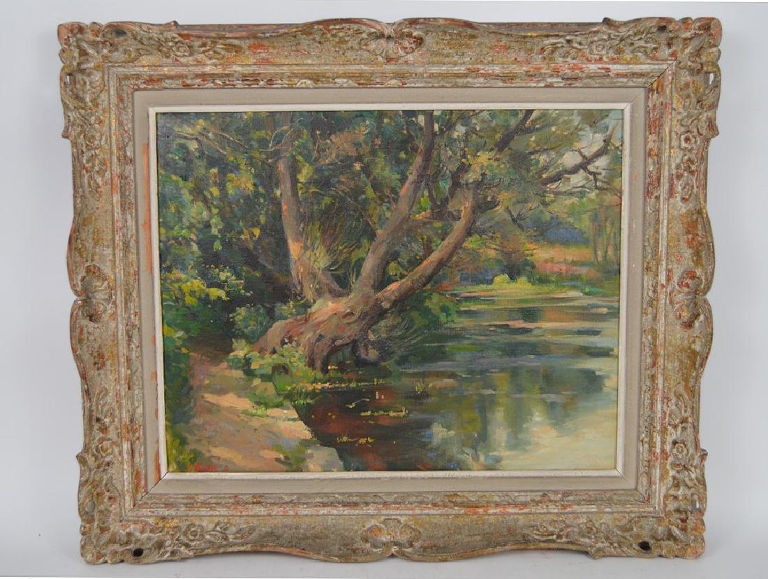 Samuel Mirsky (1883 - 1980) oil on canvas, summer