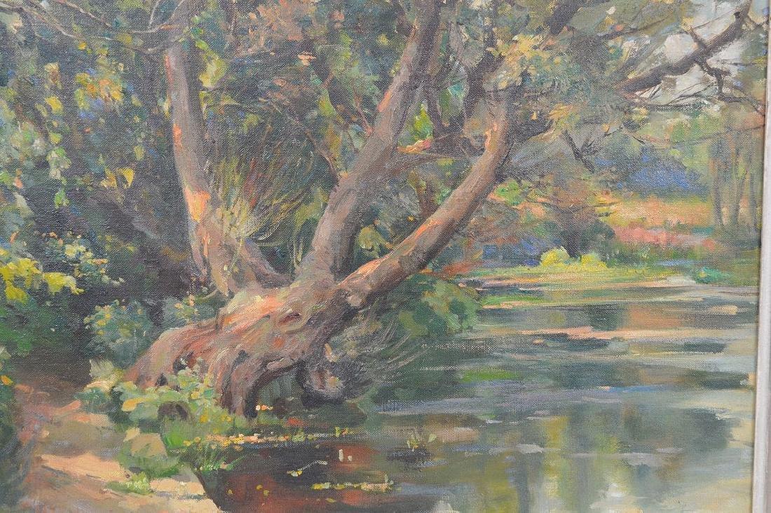 Samuel Mirsky (1883 - 1980) oil on canvas, summer - 2