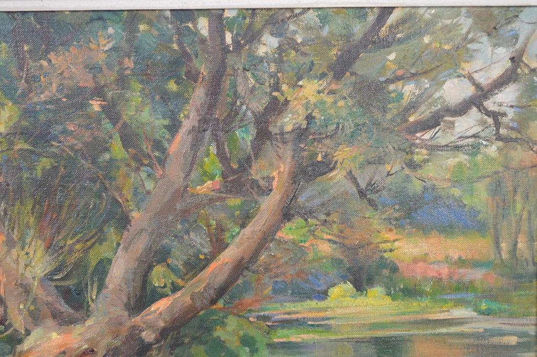 Samuel Mirsky (1883 - 1980) oil on canvas, summer - 3