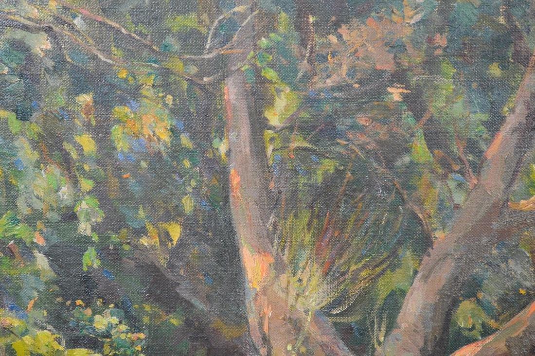 Samuel Mirsky (1883 - 1980) oil on canvas, summer - 4
